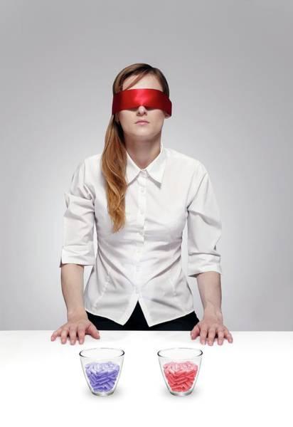 Pharmaceutics Wall Art - Photograph - Blind Drug Trial by Victor De Schwanberg