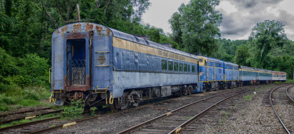 Photograph - Blue Coach In Hdr 7d03643 by Guy Whiteley