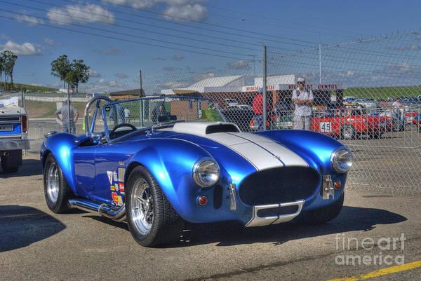 Ac Cobra Wall Art - Photograph - Blue Cobra by Stuart Row