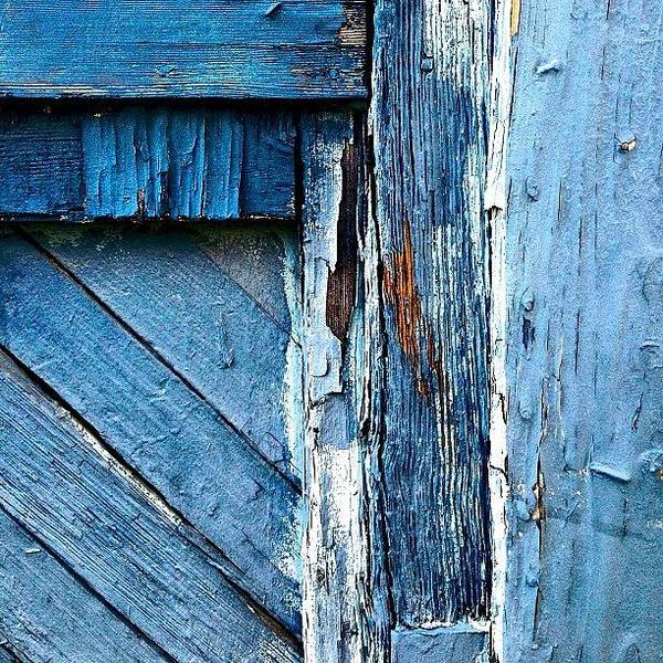 Wall Art - Photograph - Blue Door Detail by Julie Gebhardt