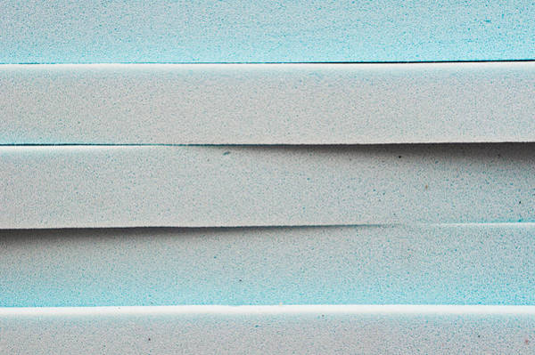 Bubble Bath Photograph - Blue Foam by Tom Gowanlock