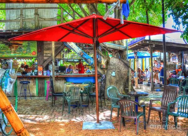 Key West Photograph - Blue Heaven by Debbi Granruth