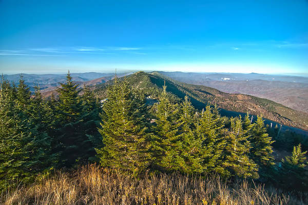 Photograph - Blue Ridge Mountains North Carolina by Alex Grichenko