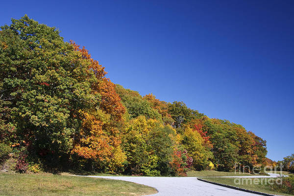 Photograph - Blue Ridge Parkway Overlook by Jill Lang