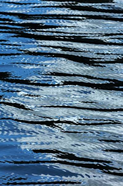 Wall Art - Photograph - Blue Rippled Water Of British Columbias by Macduff Everton
