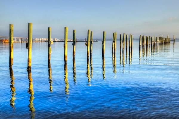 Hobe Sound Photograph - Blue Tide by Debra and Dave Vanderlaan