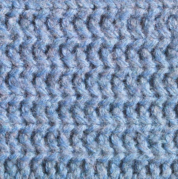 Closeup Wall Art - Photograph - Blue Wool by Tom Gowanlock
