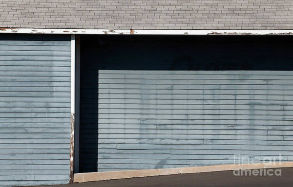 Wood Siding Wall Art - Photograph - Blues by Dan Holm