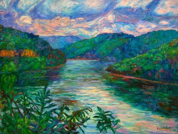 Painting - Bluestone Lake by Kendall Kessler