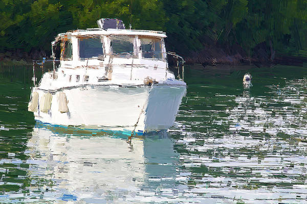 Photograph - Boat In The Water by Alice Gipson