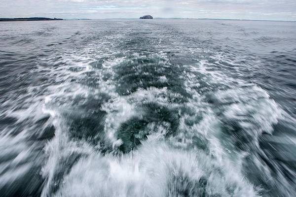 Wake Up Photograph - Boat Wake by Lewis Houghton/science Photo Library