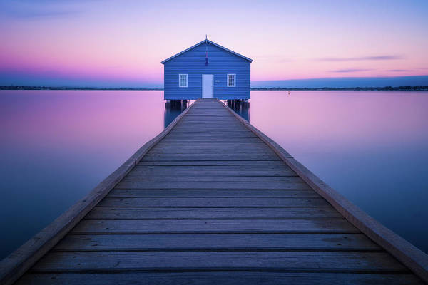 Silky Wall Art - Photograph - Boathouse by Richard Vandewalle