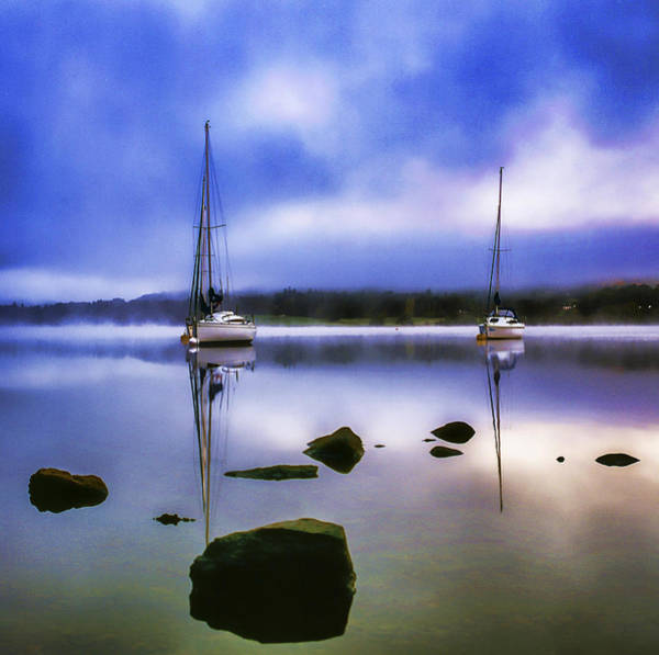 Photograph - Boats On Ullswater by Neil Alexander