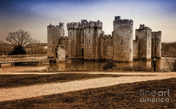 Bodiam Photograph - Bodiam Castle by Donald Davis