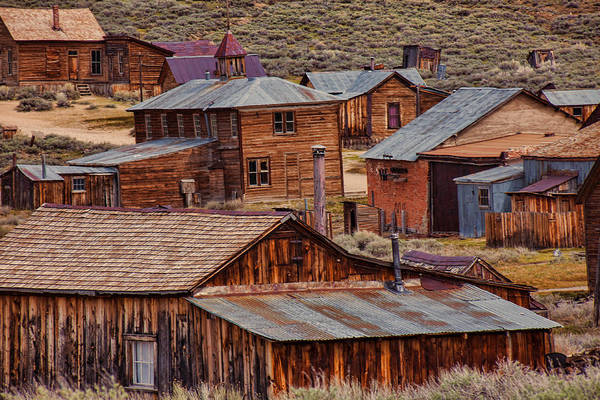 Wall Art - Photograph - Bodie Ghost Town by Garry Gay