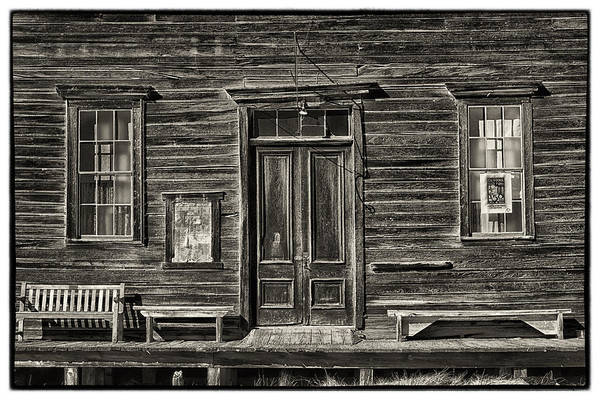 Bodie California Photograph - Bodie Ghost Town by Robert Fawcett