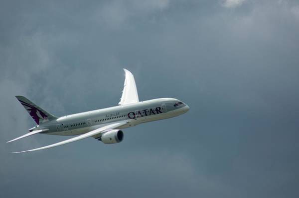 Wing Back Wall Art - Photograph - Boeing 787 Dreamliner by Mark Williamson