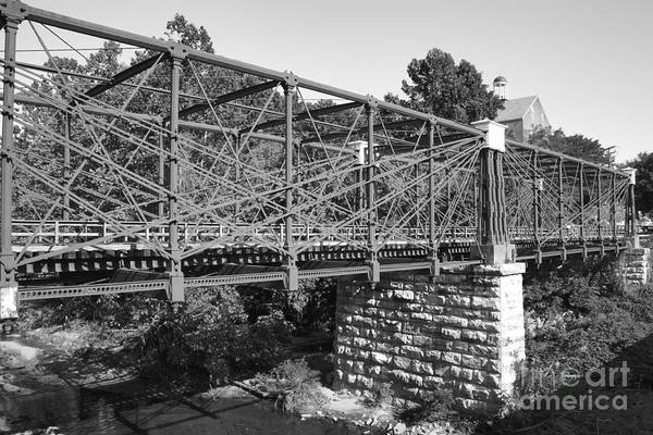 Photograph - Bollman Truss Bridge At Savage In Maryland by William Kuta