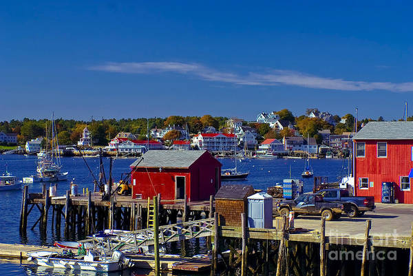 Photograph - Boothbay Harbor Maine. by New England Photography