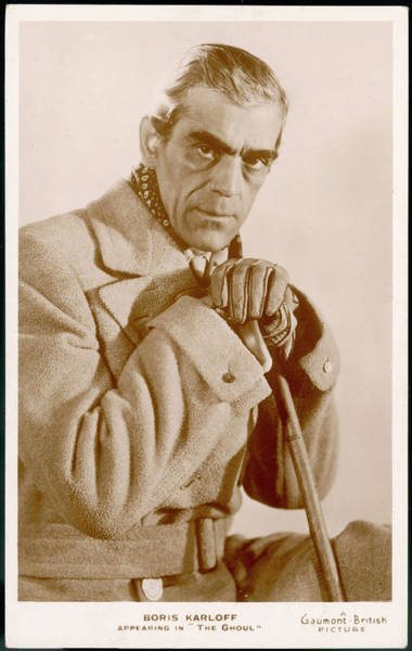 Wall Art - Photograph - Boris Karloff  British Actor Who by Mary Evans Picture Library