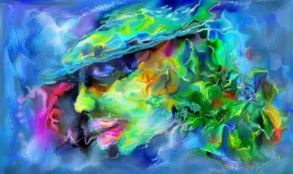 Dominate Painting - Boss by Vandana Devendra