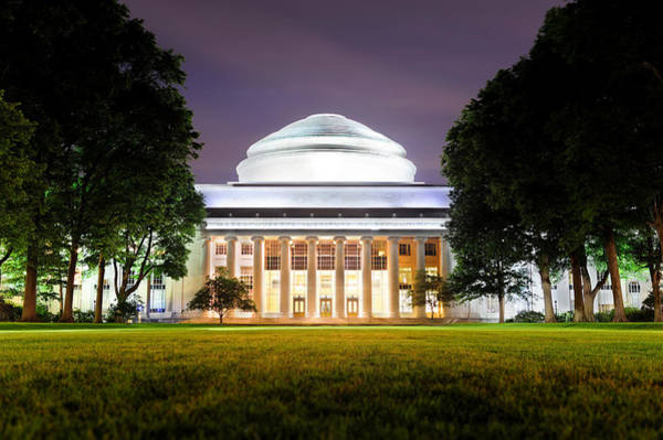 Photograph - Boston Mit Campus by Songquan Deng