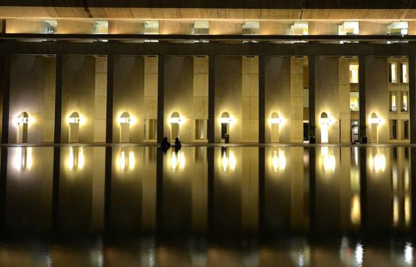 Photograph - Boston Reflecting Pool Christian Science Church by Toby McGuire