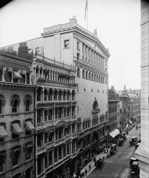 Photograph - Boston Tremont Temple by Granger