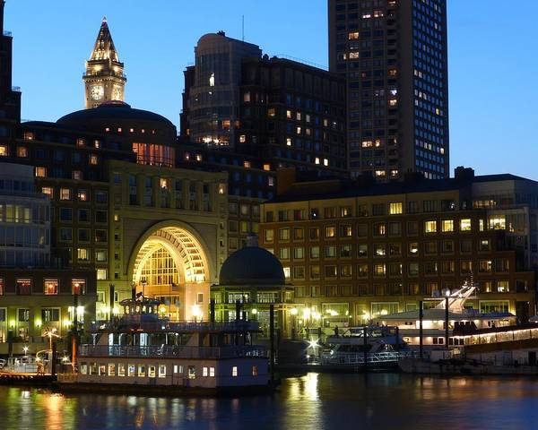 Photograph - Boston Waterfront by Toby McGuire