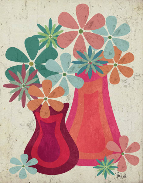 Mod Painting - Botanical II by Shanni Welsh