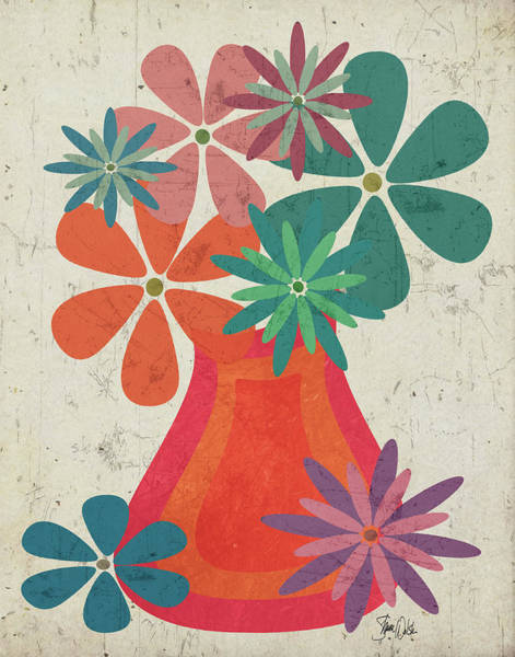 Mod Painting - Botanical IIi by Shanni Welsh