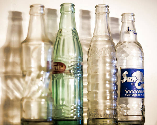 Photograph - Bottle Collection by Heather Applegate