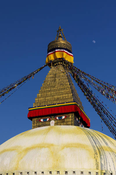 Photograph - Boudhanath Stupa by Ivan Slosar