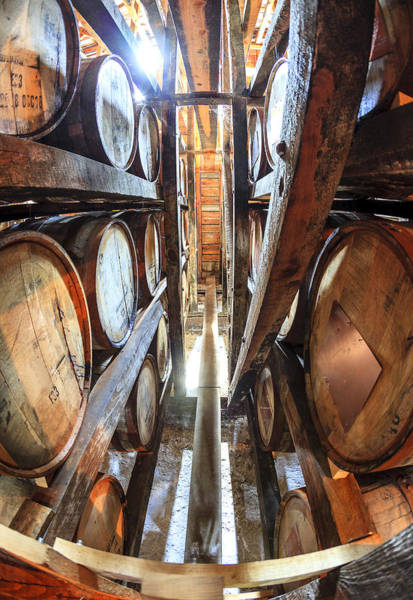 Aging Photograph - Bourbon Warehouse by Alexey Stiop