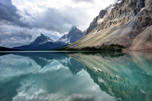Bow River Wall Art - Photograph - Bow Lake by Marko Stavric Photography