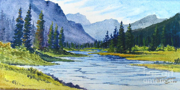 Bow River Art Print