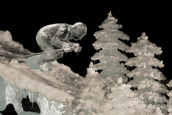 Ice Carving Photograph - Bp World Ice Art Championships Ice by John Shaw