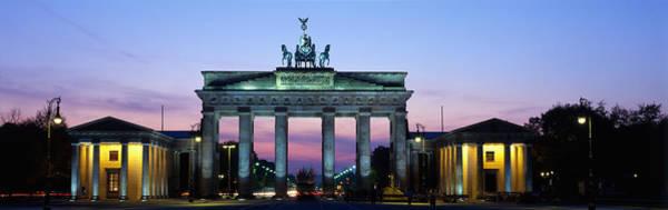 Brandenburg Gate Photograph - Brandenburg Gate, Berlin, Germany by Panoramic Images