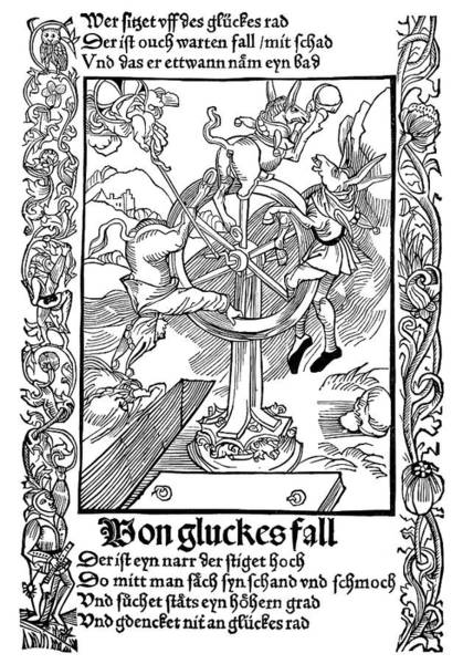 German Renaissance Drawing - Brant Ship Of Fools by Granger
