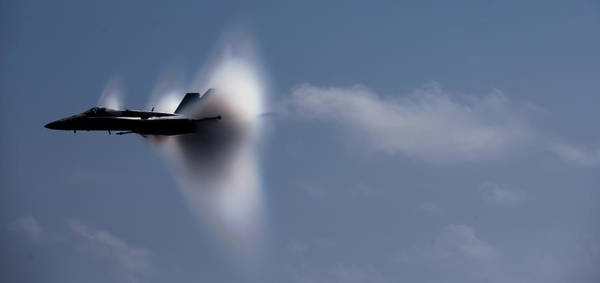 Breaking Sound Barrier Wall Art - Photograph - Breaking The Sound Barrier by Mountain Dreams