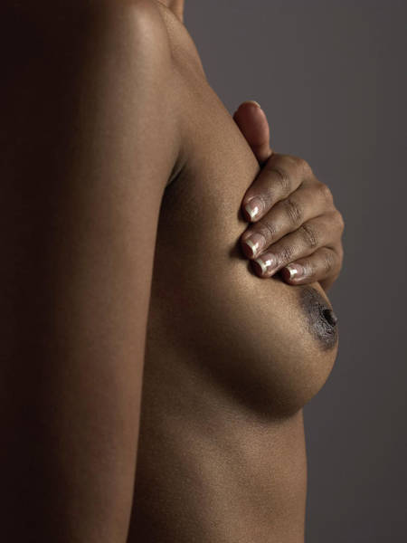 Checking Photograph - Breast Self-examination by Kate Jacobs/science Photo Library