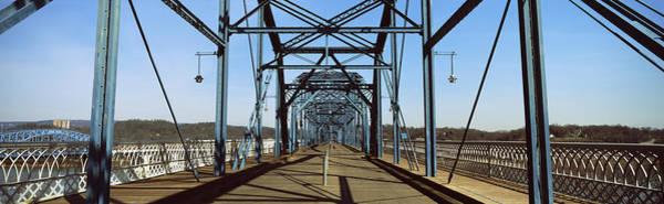 Walnut Photograph - Bridge Across A River, Walnut Street by Panoramic Images