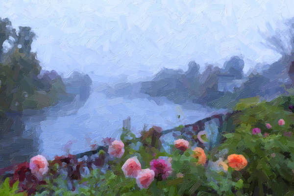 Photograph - Bridge Of Flowers by Tom Singleton
