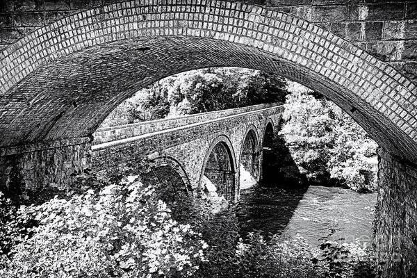 Wall Art - Photograph - Bridge Under A Bridge by Jane Rix