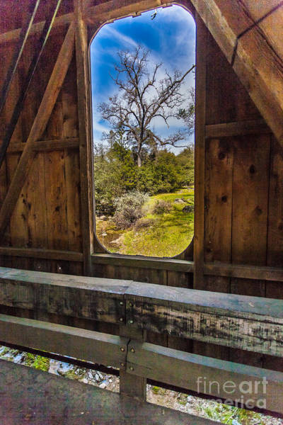 Photograph - Bridge View by Charles Garcia