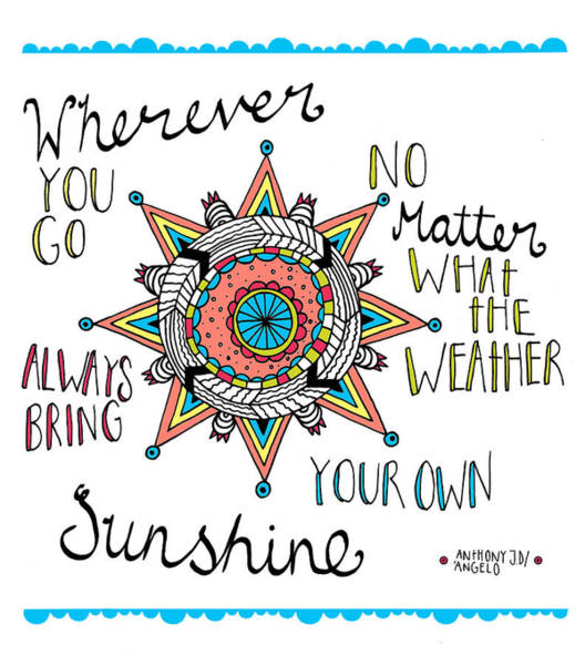 Wall Art - Photograph - Bring Your Own Sunshine by MGL Meiklejohn Graphics Licensing
