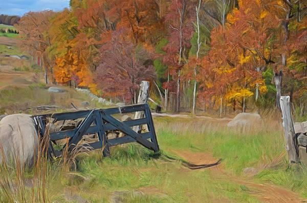 Wall Art - Photograph - Broken Gate by Dave Sandt