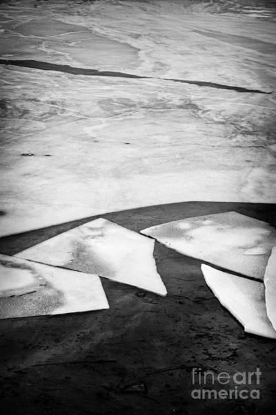 Icy Photograph - Broken Ice by Elena Elisseeva