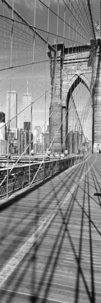 Join Wall Art - Photograph - Brooklyn Bridge Manhattan New York City by Panoramic Images