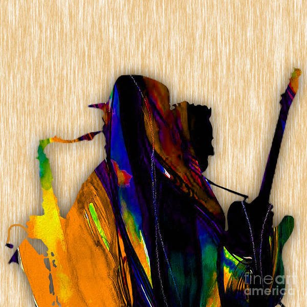 Wall Art - Mixed Media - Bruce Springsteen And Clarence Clemons by Marvin Blaine